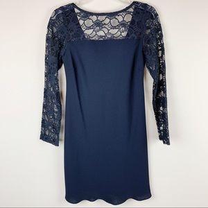 Jones New York black lace dress - EUC!!!